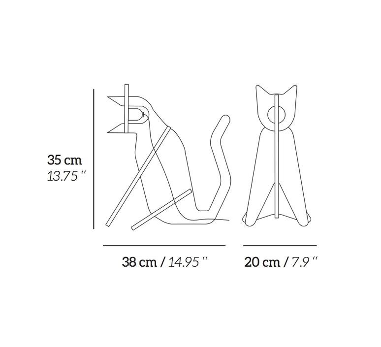 Get out cat clotilde julien eno studio cj01sa002020 luminaire lighting design signed 26950 product