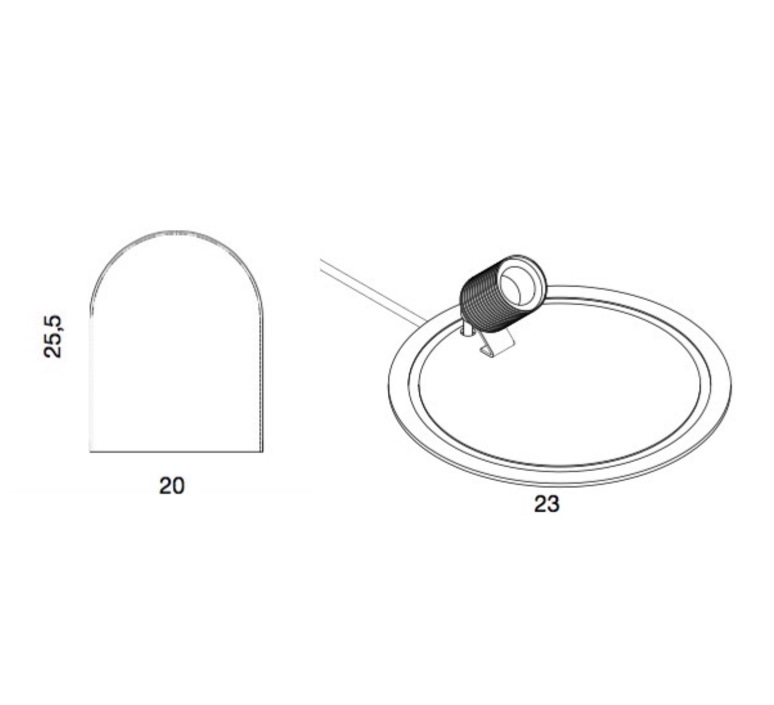 Glow in a dome susanne nielsen ebbandflow la101687 di101688 luminaire lighting design signed 21351 product