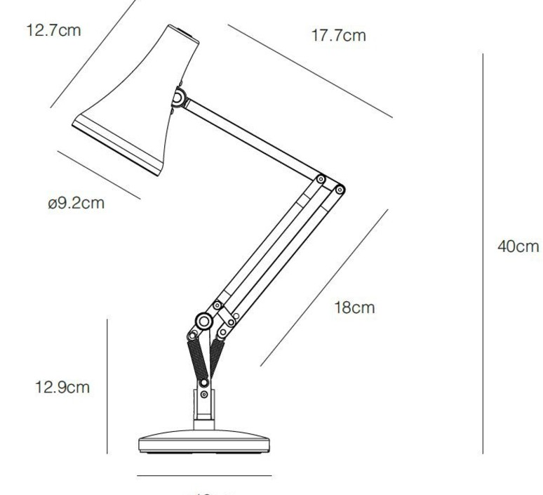 90 mini mini sir kenneth grange lampe de bureau desk lamp  anglepoise 32835  design signed nedgis 78021 product