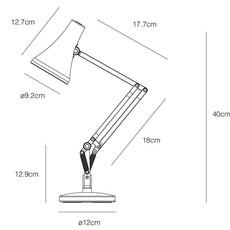 90 mini mini sir kenneth grange lampe de bureau desk lamp  anglepoise 32835  design signed nedgis 78021 thumb
