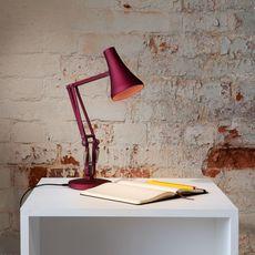 Lampe de bureau, 90 mini mini, rouge berry, LED, 3000K