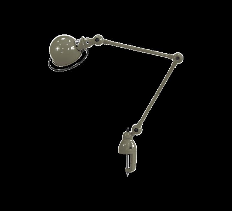Loft d4040  lampe de bureau desk lamp  jielde loft d4040 ral7002 brillant  design signed 60157 product