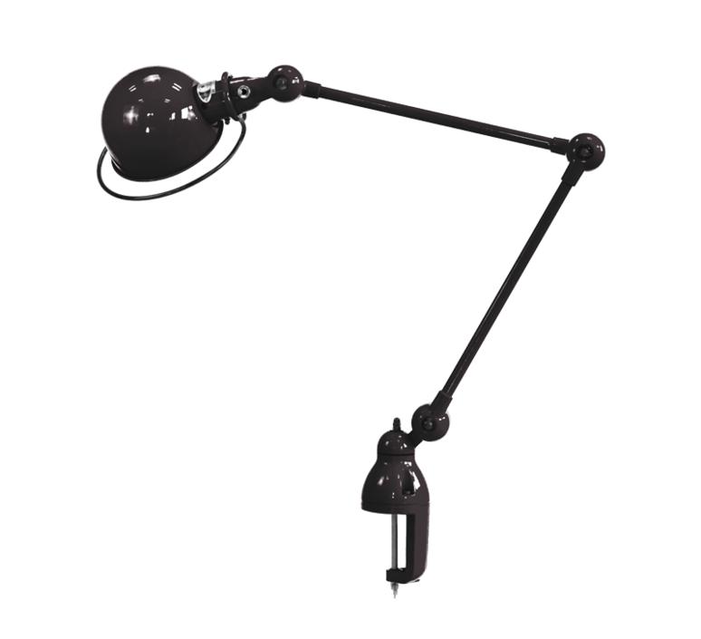 Loft d4040  lampe de bureau desk lamp  jielde loft d4040 ral9011 brillant  design signed 60155 product
