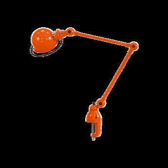Lampe de bureau a etau loft d4040 orange l40cm h72cm max jielde normal