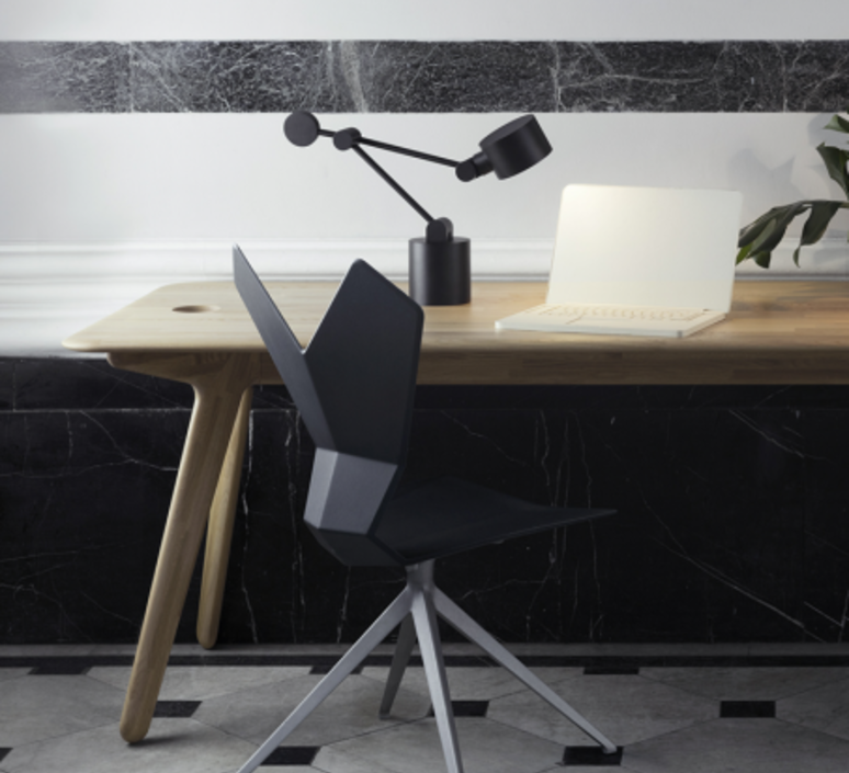 Boom   lampe de bureau desk lamp  tom dixon bmtl01blkeu  design signed 38346 product