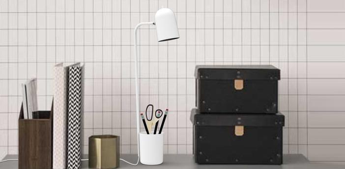 Lampe de bureau buddy blanc h49cm northern lighting normal