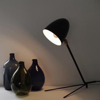 Lampe de bureau cocotte noir h34cm serge mouille normal