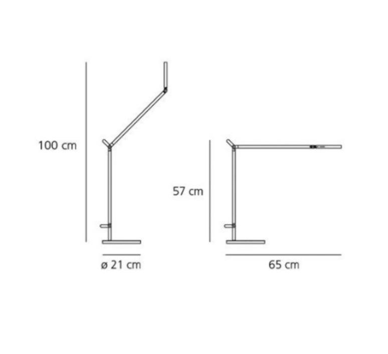 Demetra table body lamp naoto fukasawa lampe de bureau desk lamp  artemide 1734050a  design signed nedgis 115453 product