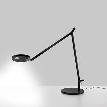 Lampe de bureau demetra table body lamp noir led 3000k 726lm l31cm h35cm artemide normal