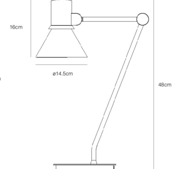 Desk lamp type 80 sir kenneth grange lampe de bureau desk lamp  anglepoise 32912  design signed nedgis 71472 product