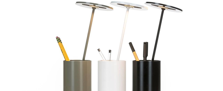 Lampe de bureau e t noir h26 7cm formagenda normal