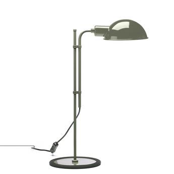 Lampe de bureau funiculi gris h50 3cm marset normal