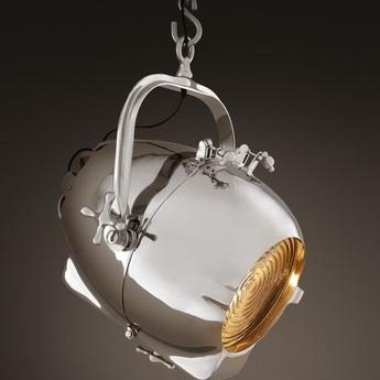 Lampe de bureau lamp spitfire gris l40cm h66cm eichholtz normal