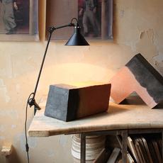 Lampe gras n 201 bernard albin gras lampe de bureau desk lamp  dcw 201 bl bl conic  design signed nedgis 115637 thumb