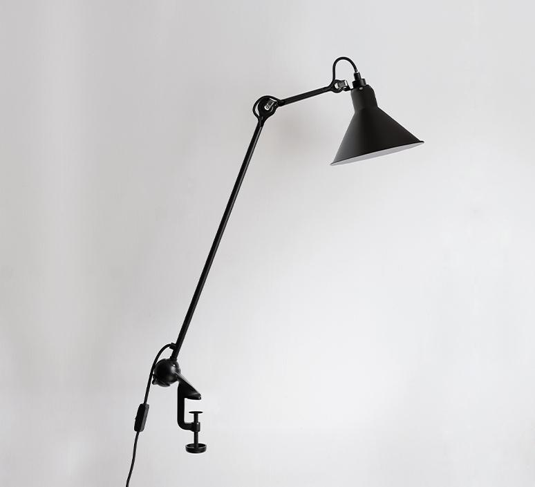 Lampe gras n 201 bernard albin gras lampe de bureau desk lamp  dcw 201 bl bl conic  design signed nedgis 115638 product