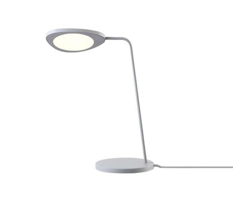 De Lampe Lampe 5cm De BureauLeafGrisH41 Muuto BureauLeafGrisH41 Ku1FJlcT3