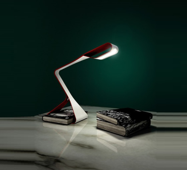 Libra delineodesign zava libra carmine red 3002 blanc 9010 luminaire lighting design signed 17518 product