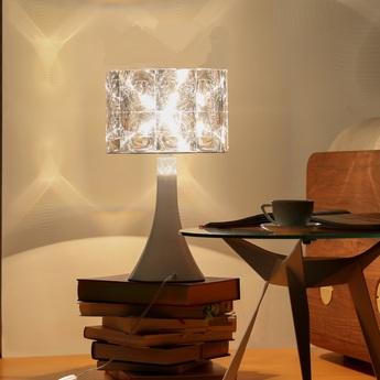 Lampe de bureau lighthouse transparent blanc h55cm innermost normal