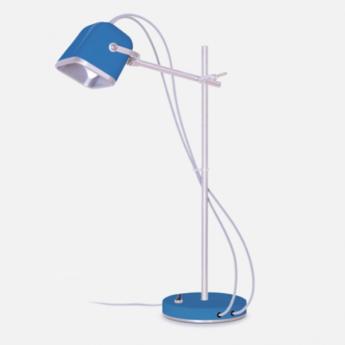Lampe de bureau mob bleu petrole o14cm h55cm swabdesign normal