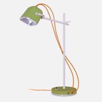 Lampe de bureau mob kaki o14cm h55cm swabdesign normal