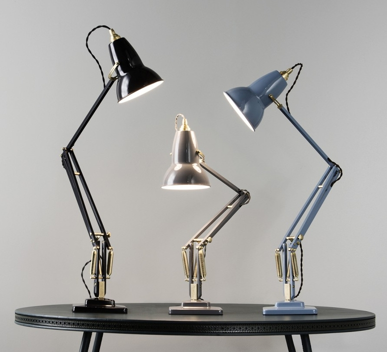 Original 1227 brass george carwardine anglepoise 31308 luminaire lighting design signed 26630 product