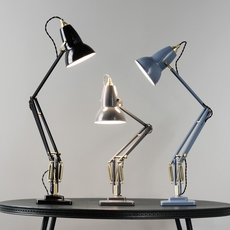 Original 1227 brass george carwardine anglepoise 31308 luminaire lighting design signed 26630 thumb
