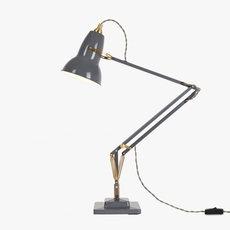 Original 1227 brass george carwardine anglepoise 31308 luminaire lighting design signed 26631 thumb