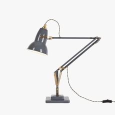 Original 1227 brass george carwardine anglepoise 31308 luminaire lighting design signed 26632 thumb