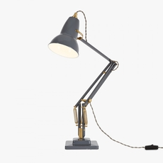 Original 1227 brass george carwardine anglepoise 31308 luminaire lighting design signed 26633 thumb