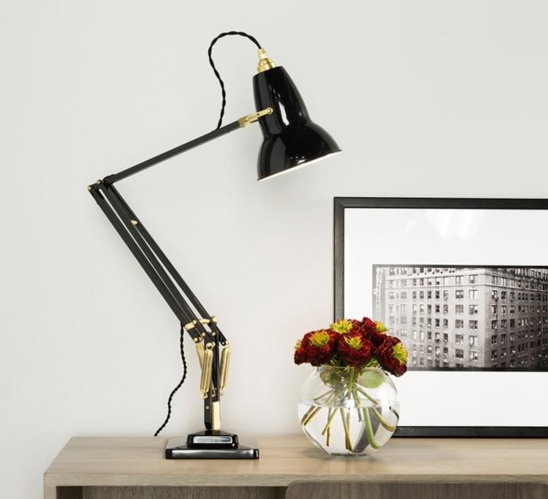 Original 1227 brass george carwardine anglepoise 31310 luminaire lighting design signed 26573 product