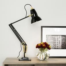 Original 1227 brass george carwardine anglepoise 31310 luminaire lighting design signed 26573 thumb