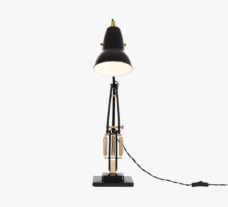 Original 1227 brass george carwardine anglepoise 31310 luminaire lighting design signed 26577 product