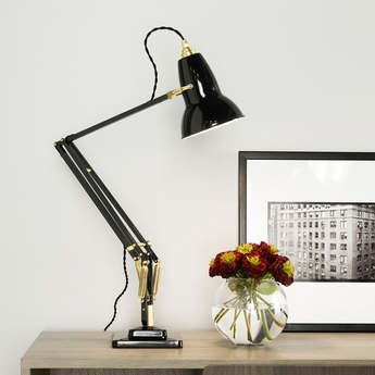 Desk lamp Original 1227 Brass light grey H60cm ANGLEPOISE