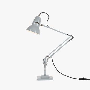 Lampe de bureau original 1227 gris l46cm h60cm anglepoise normal