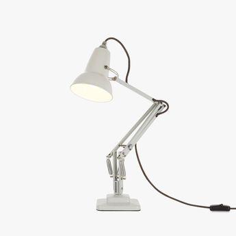 Lampe de bureau original 1227 mini blanc lin l36cm h48cm anglepoise normal
