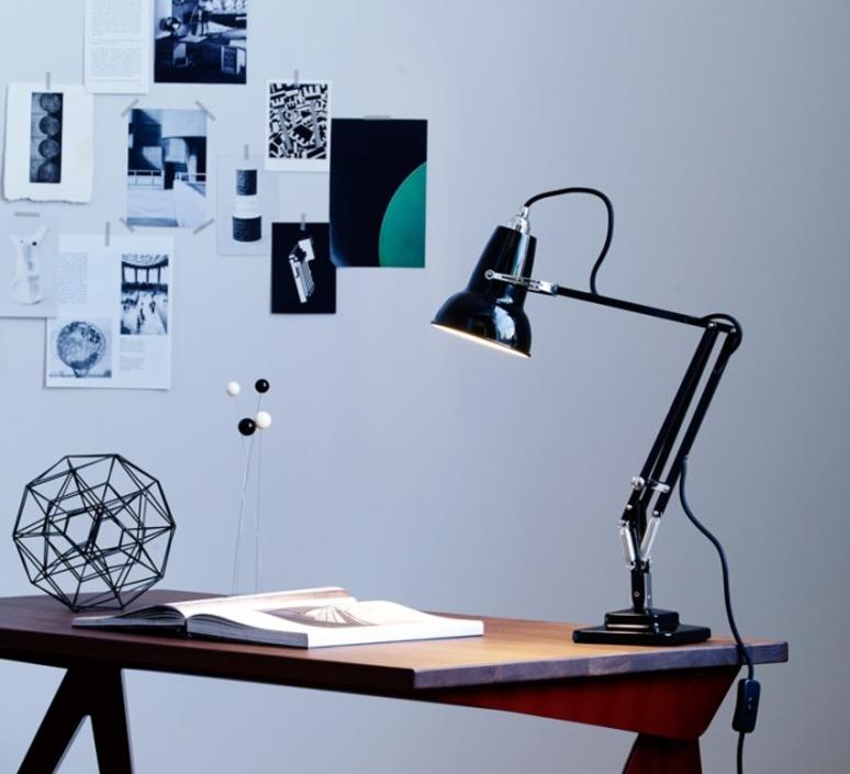 lampe de bureau original 1227 mini noir h48cm anglepoise luminaires nedgis. Black Bedroom Furniture Sets. Home Design Ideas