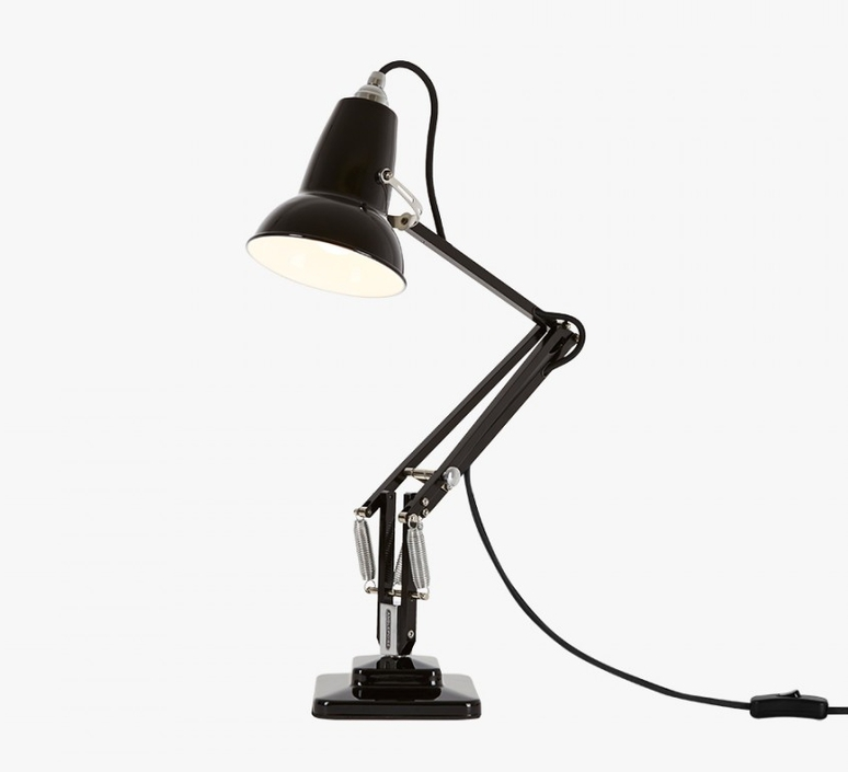 Lampe de bureau original 1227 mini noir h48cm for Lampe de bureau originale