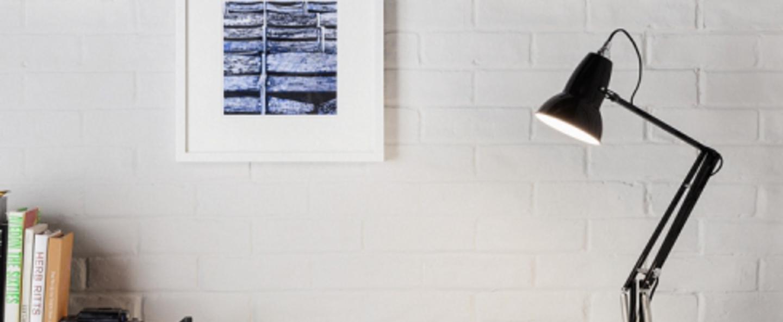 Lampe de bureau original 1227 noir h60cm anglepoise normal