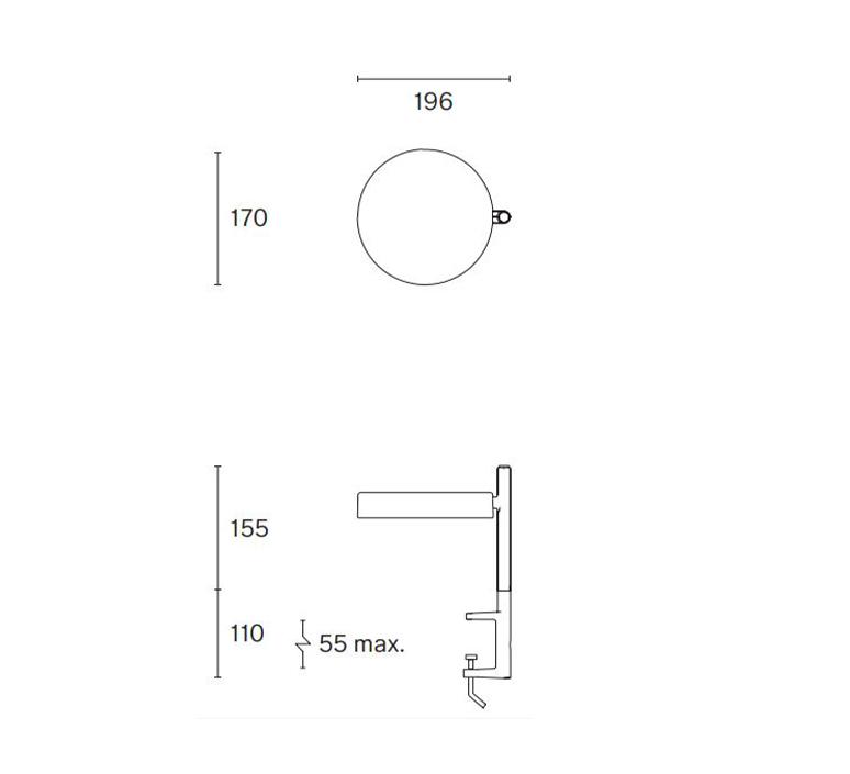 Pastille c1 industrial facility lampe de bureau desk lamp  wastberg 182c16003  design signed nedgis 123330 product
