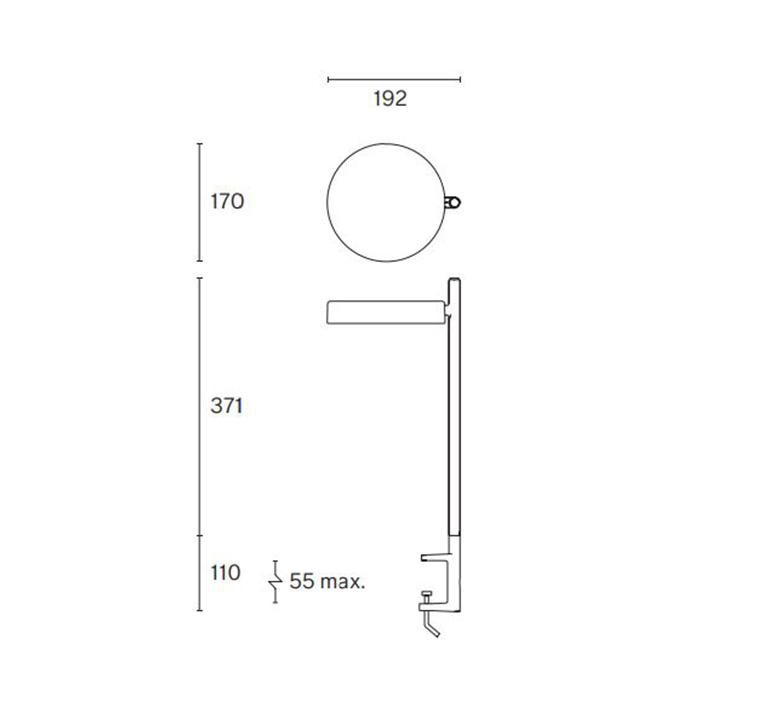 Pastille c2 industrial facility lampe de bureau desk lamp  wastberg 182c23009  design signed nedgis 123336 product
