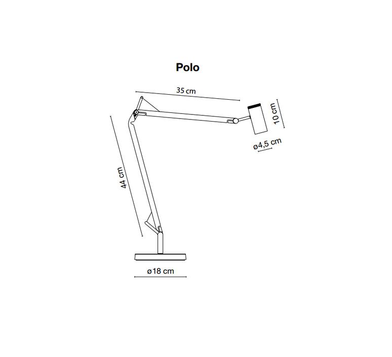 Polo joan gaspar marset a642 013 a642 014 luminaire lighting design signed 14257 product