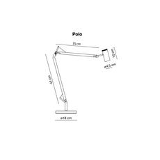 Polo joan gaspar marset a642 013 a642 014 luminaire lighting design signed 14257 thumb