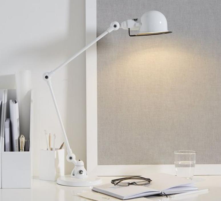 Signal 2 bras jean louis domecq lampe de bureau desk lamp  jielde si333 blc  design signed 35801 product