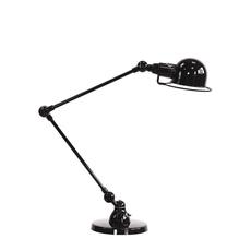 Signal 2 bras jean louis domecq lampe de bureau desk lamp  jielde si333 ral9011  design signed 35694 thumb