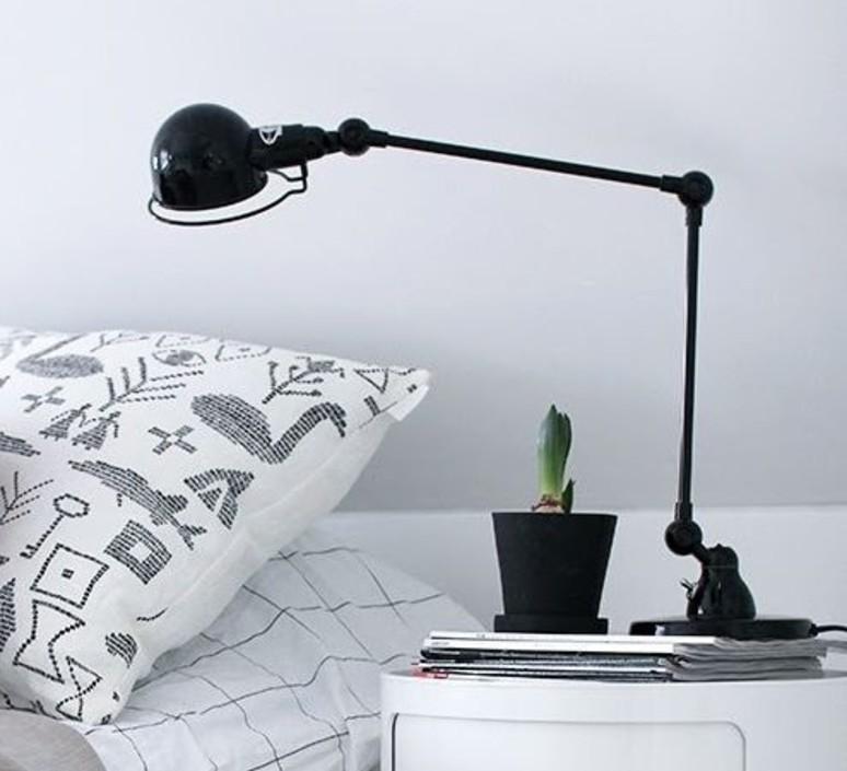Signal 2 bras jean louis domecq lampe de bureau desk lamp  jielde si333 ral9011  design signed 35696 product