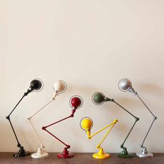 Signal 2 bras jean louis domecq lampe de bureau desk lamp  jielde si333 ral9011  design signed 53564 thumb