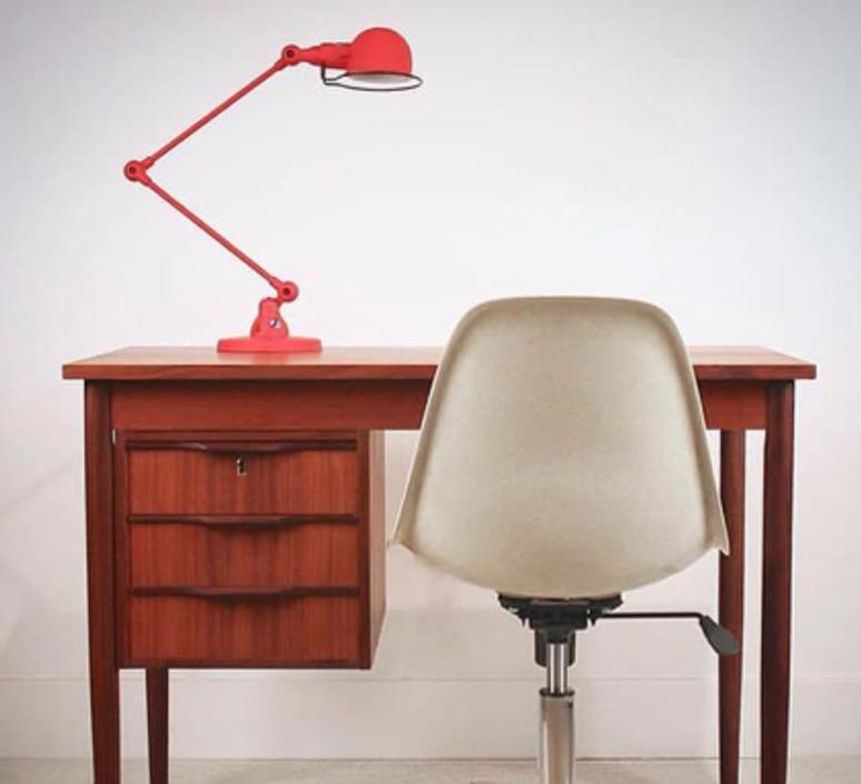 Signal 2 bras jean louis domecq lampe de bureau desk lamp  jielde si333 ral3020  design signed 35772 product