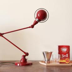 Signal 2 bras jean louis domecq lampe de bureau desk lamp  jielde si333 ral3020  design signed 35773 thumb
