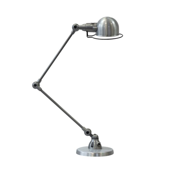 Signal 2 bras jean louis domecq lampe de bureau desk lamp  jielde si333 ral9011  design signed 57996 product