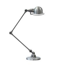Signal 2 bras jean louis domecq lampe de bureau desk lamp  jielde si333 ral9011  design signed 57996 thumb